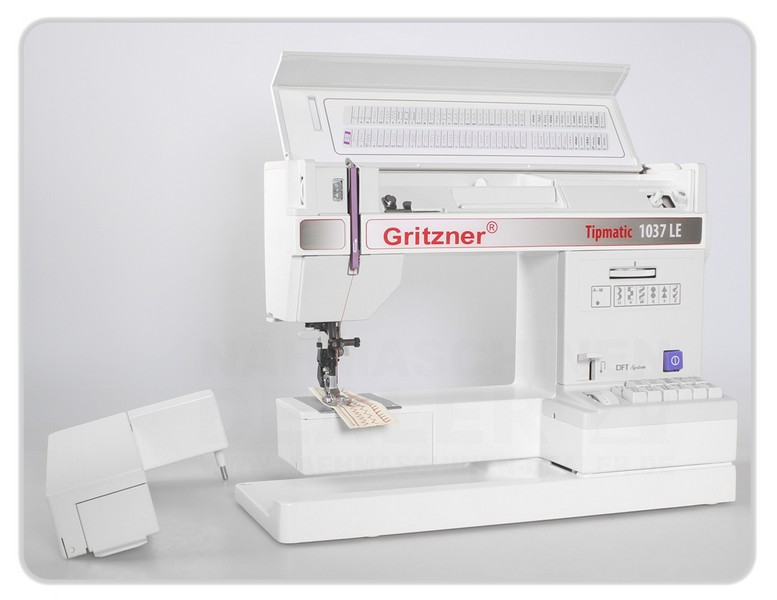 šicí stroj GRITZNER Tipmatic 1037 Limited Edition DFT-6