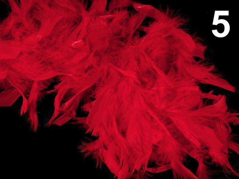 boa krůtí peří 60g 1,8m = 1 kus-1