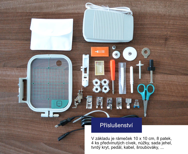 šicí stroj Bernina 380 + dárek + záruka 5let-7