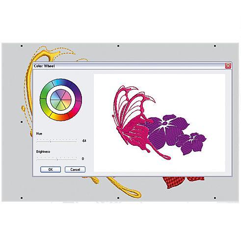 vyšívací software Editor Plus 6-3