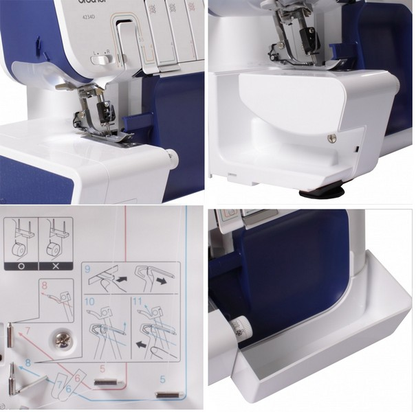 overlock Brother M 4234 D-1
