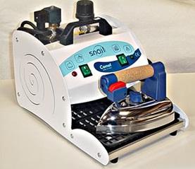 žehlička s vyvíječem páry Comel SNAIL 3l + teflonový návlek-1