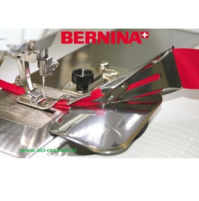 Lemovač - páskovač pro nezažehlený šikmý proužek 38/10,5mm. Bernina 0335057205-1