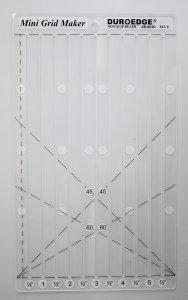 pravítko - šablona 6x10 čtverec