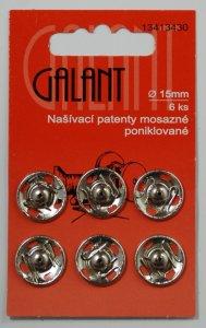 patentky nikl.prům.15mm/6ks