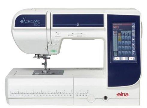 vyšívací a šicí stroj Elna eXpressive 860