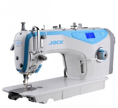 Jack A4S-H 1-jehlový šicí stroj s odstřihem, střední materiá