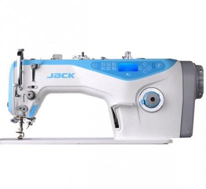Jack A5 1-jehlový šicí stroj s odstřihem, střední materiály