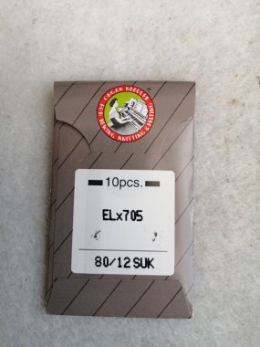 jehla pro coverlock SUK ELx705/80 - balení 10ks