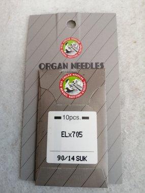 jehla pro coverlock SUK ELx705/90 - balení 10ks