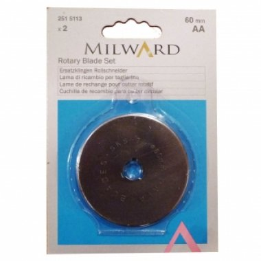 kruhové kolečko milward 60mm 2x