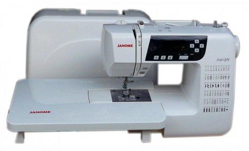 šicí stroj Janome 3160DC + stolek + jehly zdarma