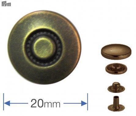 druk stiskací Anorak/WUK-20mm design Reifen 6ks