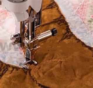 patka quiltovací otevřená kovová-