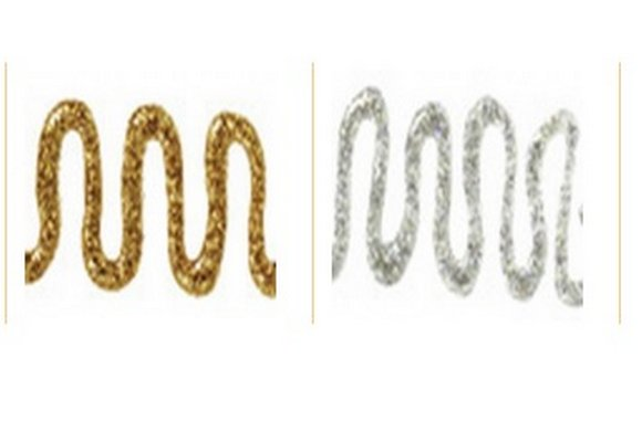 glitry s lepidlem 25ml zlaté/stříbrné-