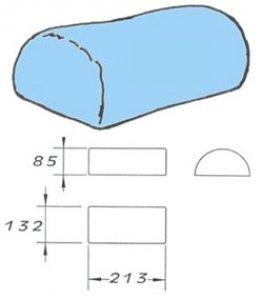 rukávník tvarovaný 132x215x85cm