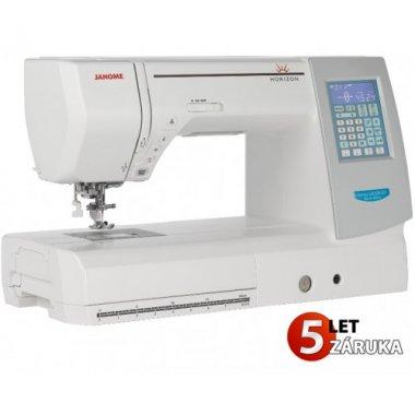 šicí stroj Janome MC 8200 QCP SE + dárek