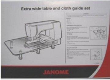 Přídavný stůl pro rozšíření pracovní plochy ke stroji Janome8200/ 7700 / 8900 / 6600