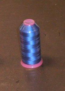 nit vyšívácí viskozová MARATHON 5000m-120/2 modrá