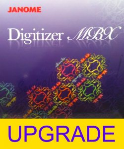 upgrade z Janome Digitizer Junior na Janome Digitizer MBX