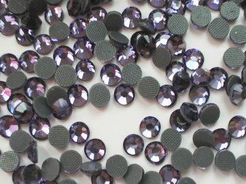 5mm nalep.kamínky broušené violet