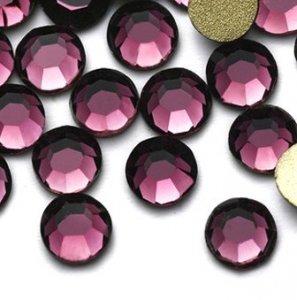 5mm nalep.kamínky broušené amethyst