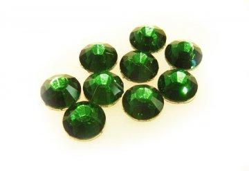 5mm nalep.kamínky broušené green turmaline = tm.zelená