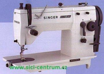 průmyslový šicí stroj Singer 20U cik-cak, pouze hlava