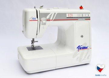 šicí stroj Veronica Prima 100 - kytka