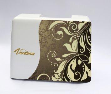 ochranný kufr pro šicí stroje Veronica 100, 200 - zlatý