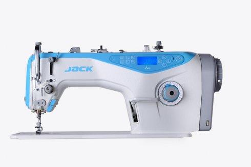 jednojehlový průmyslový šicí stroj Jack v plné elektronice  pro těžké materiály