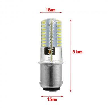 Žárovka LED bajonet,  patice B15 240V/5W 64led