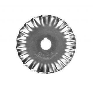 Náhradní kulatá řezací čepel OLFA s vlnkou 45mm PIB45-1