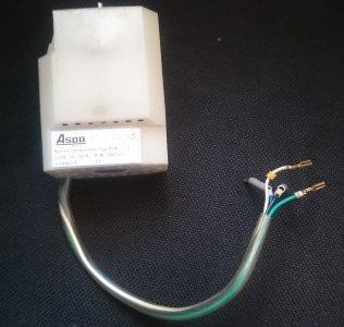 motor ASW-22-9/90W Veritas elektronic motor(Famula)