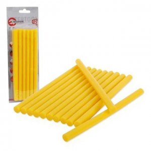 tavná tyčka žlutá 11,2x250mm 12ks