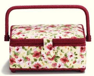 košík - kazeta na šicí potřeby Rose S