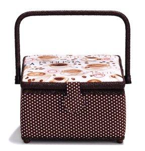 košík - kazeta na šicí potřeby Coffe M