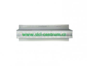 hliníkové pravítko s bezpečnostní rukojetí 8inch