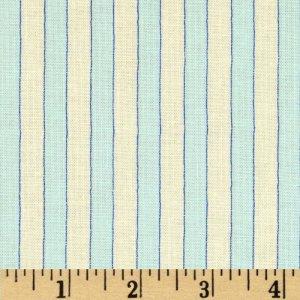 látka beach treasures-water stripe-sky 100%bavlna           110cm šíře/rowan