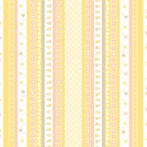 látka sweetheart-stripe-buttercup 100%bavlna                110cm šíře, rowan