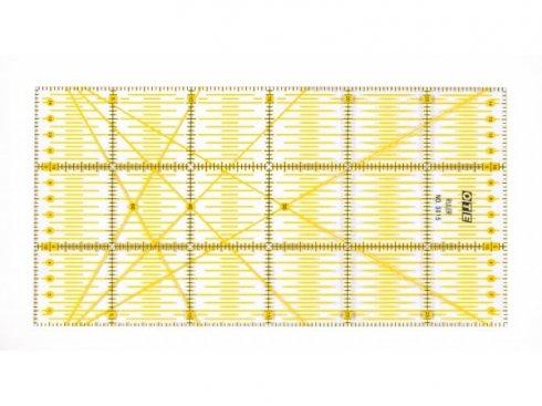 patchworkové pravítko OTE 15x30cm Olfa