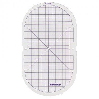 plastová mřížka pro rámeček Bernina Oval 145x255mm