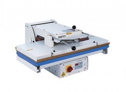 průmyslový žehlící lis PL/T900 90x40cm - mechanické pákové zavírání