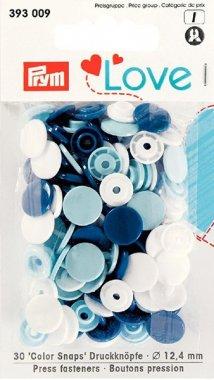 plastové patentky PRYM LOVE 30ks