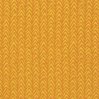 látka  100%bavlna ginger snap-herringbone-carrot            110cm šíře/rowan