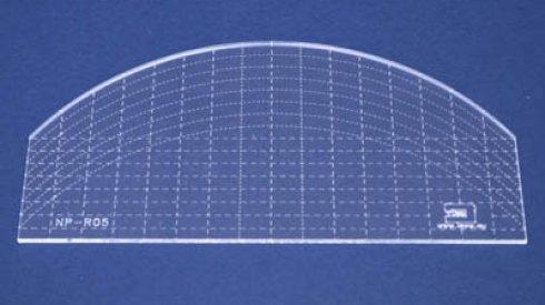 Quiltovací pravítko oblouk NP-R05