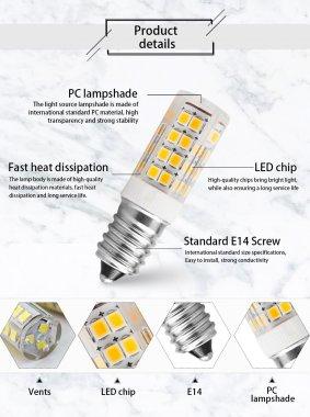 Žárovka LED závit E14 230V 5W