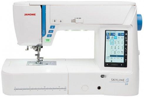 šicí a vyšívací stroj Janome Skyline S9 +dárek