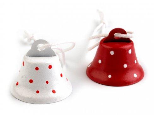 zvonečky 22x26mm mix v bal.2ks
