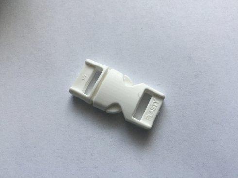 trojzubec 10mm-přezka dělitelná UH bílý